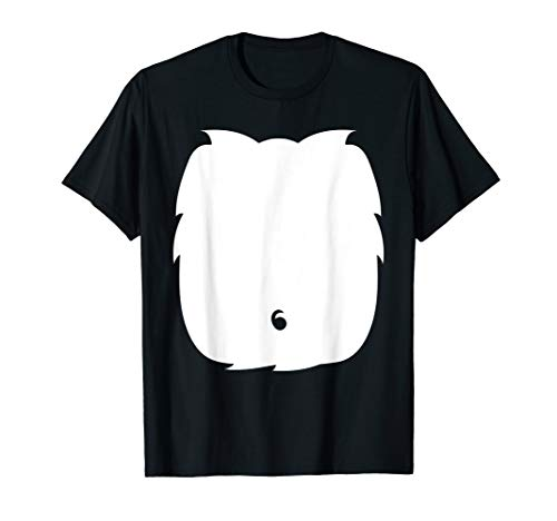 Skunk Cat Panda Halloween Costume TShirt Cute Kid Adult Gift ()