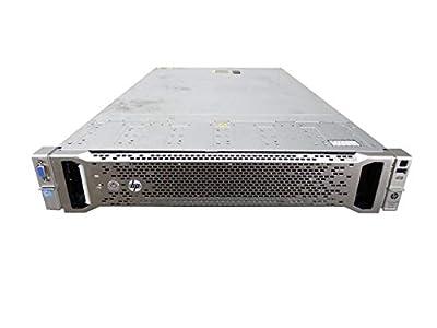 "HP ProLiant DL560 G8 5-Bay SFF 2U Server, 4X Xeon E5-4650 V2 2.4GHz 10 Core 25MB, 256GB DDR3, P420i RAID, 5X 100GB SATA 6Gbps 2.5"" SSD, HP iLO 4, 2X 1200W PSUs, no Rail (Certified Refurbished)"