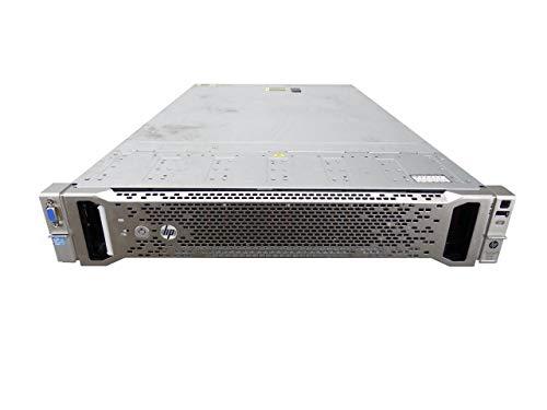HP ProLiant DL560 G8 5-Bay SFF 2U Server, 4X Xeon E5-4620 2.2GHz 8 Core 16MB, 192GB DDR3, P420i RAID, 5X 300GB 15K SAS 2.5in HDD, HP iLO 4, 2X 1200W PSUs, no Rail (Renewed) ()
