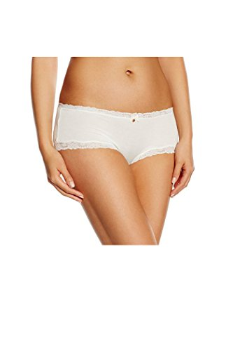 Skiny - Shorts - para mujer blanco marfil