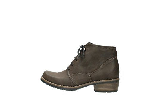 50150 Reale Wolky Up Oliato In Lace Taupe Scarpe 0565 Pelle OaYOw