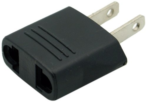 DierCosy Flat Europe/Asia to USA Plug Adapter DCpro00189