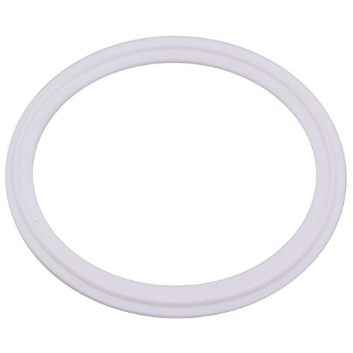 (Dernord Teflon (PTFE) Tri-Clamp Gasket O-Ring - 4 Inch Style Fits OD 119MM Sanitary Pipe Weld Ferrule (Pack of 1))