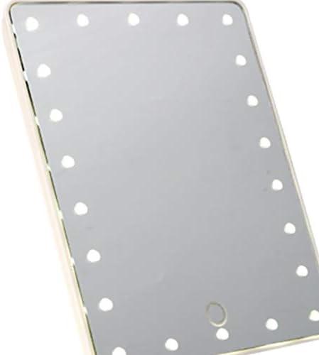 16 Leds Blanco RoadRoma Mujeres Espejo de Maquillaje con luz LED Espejo de vanidad Espejo cosm/ético de encimera
