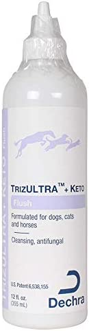 Dechra Trizultra + Keto Flush for Dogs Cats &Horses 12 fl ounces