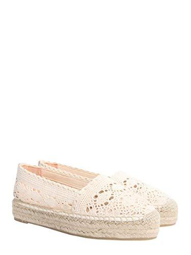 Zapatos Mujer Castaner Kendass180532010 Algodon Blanco ZUYUIqwz