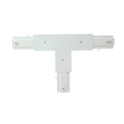 Lighting Lightolier Track - Lightolier 6051WH Lytespan Track Lighting Basic Track Access