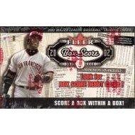 2002 Fleer Box (2002 Fleer Box Score Baseball Card Unopened Hobby Box)
