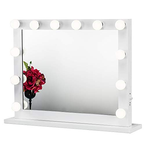 Joyful Store Hollywood Makeup Mirror,Wall Mounted
