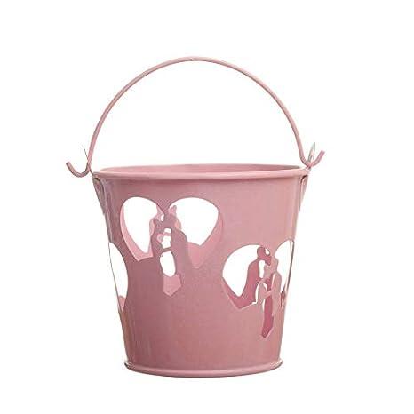 Amazon.com: Bucket Tin - Mini Metal Bucket Tin Candy Box ...