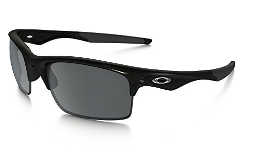 Oakley Bottle Rocket Sunglasses Polished BLK / BLK Irid. Pol. & Care Kit - Rocket Bottle Oakley