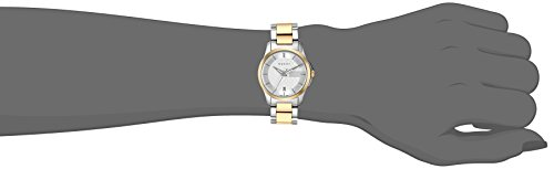 412d410e769 Gucci Swiss Quartz Stainless Steel Dress Two-Tone Women s Watch(Model   YA126531)