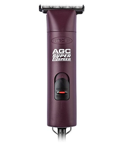 Andis AGC Super 2-Speed with T-84 Detachable Blade Clipper Professional Equine Grooming, Cleaning Blade Brush Included by Andis