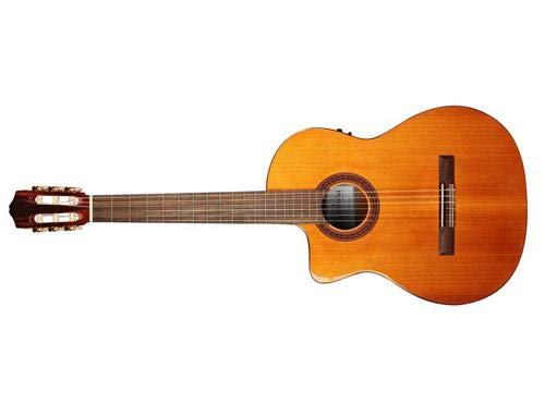 Cordoba C5-CE Left-Handed Acoustic Electric Nylon String Classical Guitar ()