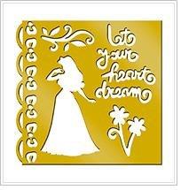 Disney Princess Brass Stencil - 46625 - Sleeping (Stencils Disney)