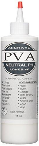 Tran PVA Adhesive Glue, 16-Ounce