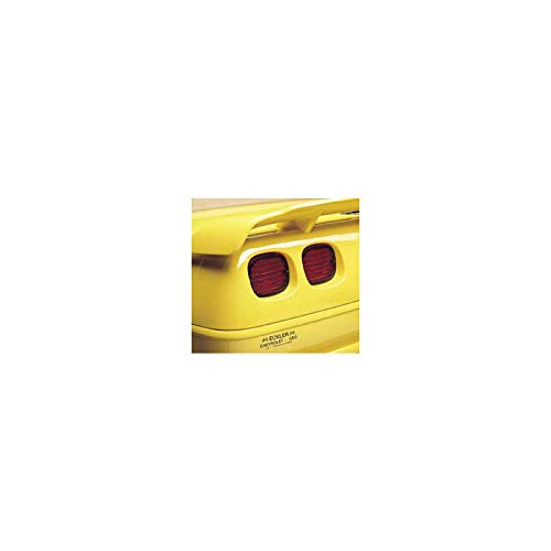 Eckler's Premier Quality Products 25102218 Corvette Taillight Louvers & - Light Tail Zr1
