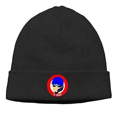 Veta Megica Men's Winter Warm Beanie Hats Chicago El Mago Slouchy Beanie for Women