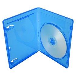 100 Premium Standard Blu-Ray Single DVD Cases 12MM