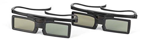 Grundig aktive 3D-Brille, Shutter-3D-Technologie,  schwarz