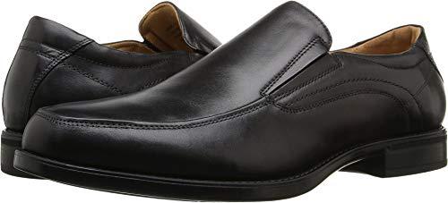 Florsheim Men's Midtown Moc Toe Slip-On Black Smooth 10.5 D US ()