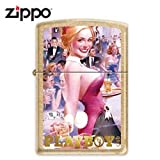 Zippo Playboy Club 50th Anniv Gold Dust (Model 24870)