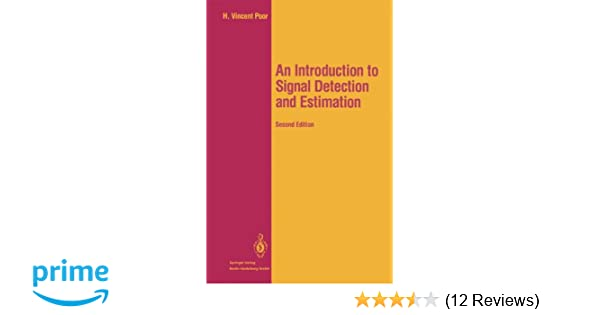 an introduction to signal detection and estimation springer texts rh amazon com Math Solution Manual Test Bank Solutions Manual