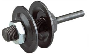 Norton Mandrel Assemblies for Rapid Strip Disc and Disc-On-Edge, 1-1/2