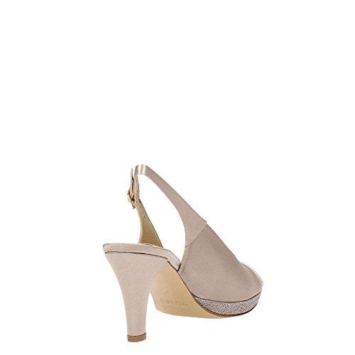 MELLUSO - Sandalias de vestir para mujer Platino