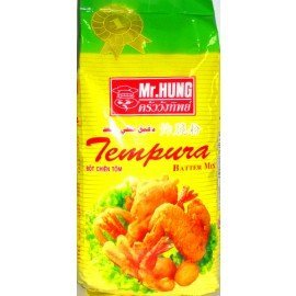 Mr Hung Tempura Batter Mix (炸脆粉)500 g (1.1 Lbs) by Mr. Hung