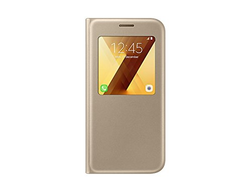 Galaxy A5 A520 2017 S-View Standing Cover Gold