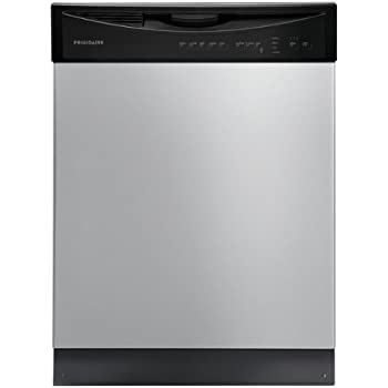 Frigidaire 24 inch built in dishwasher for 24 inch built in microwave stainless steel