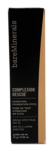 bareMinerals COMPLEXION RESCUE HYDRATING FOUNDATION STICK CASHEW 3.5 0.35 oz