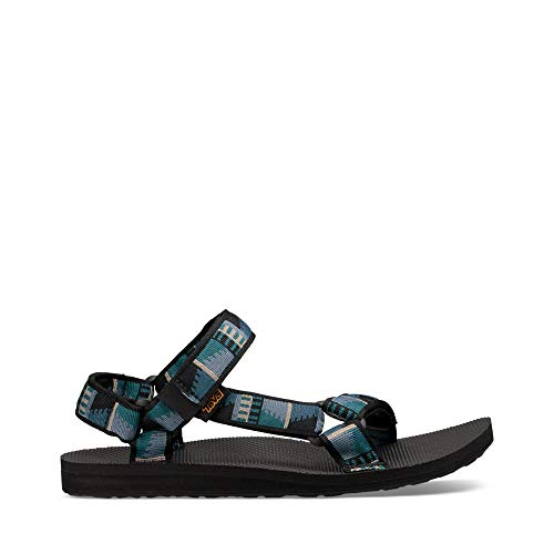 Best Teva Men's M Original Universal Sport Sandal, Peaks Black, 12 M US