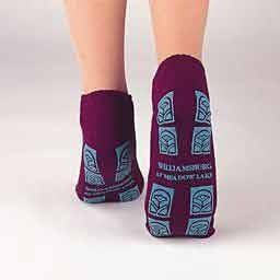 Tred Mates - TRED MATES SLIPPER SOCK ANKLE LENGTH XL ADULT GRAY, 1 pair