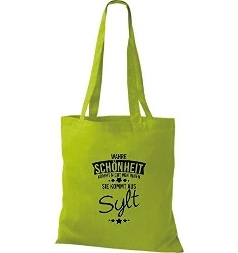 in da tessuto Sylt di La Aus arriva vera Kiwi borsa Shirtstown gpAxaS