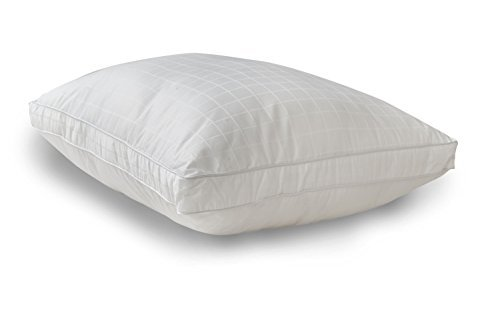 Five Star Down Alternative Pillow 100% Cotton Fabric - A MUST HAVE!! - Euro Size (26x26x1.5) by