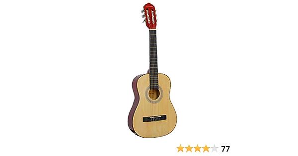 Rocket Music CG12N - Guitarra clásica, color marrón: Amazon.es: Instrumentos musicales