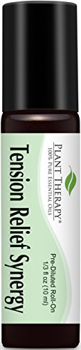Tension Relief (Headache Relief) Synergy Pre-Diluted Essential Oil Roll-On 10 ml (1/3 fl oz). Ready to use!