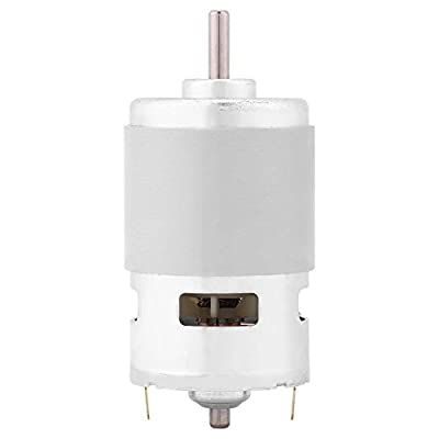 12V 0.32A 150W 13000-15000RPM DC Brushless Motor, Metal Micro Gear Motor Box High Torque Adjustable Electric Motor Gearbox, Output Shaft Geared Motor for Electric Tools