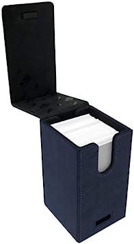 Ultra Pro E-85763 - Caja para Cartas (Gamuza), Color Azul: Amazon.es: Juguetes y juegos
