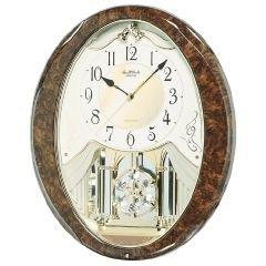 Rhythm Joyful Snowflake Wall Clock - 14-in. Wide
