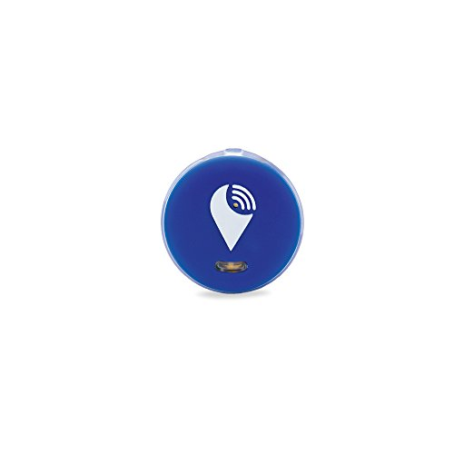 TrackR pixel - Bluetooth Tracking Device. Item Tracker. Phone Finder. iOS/Android Compatible - Blue