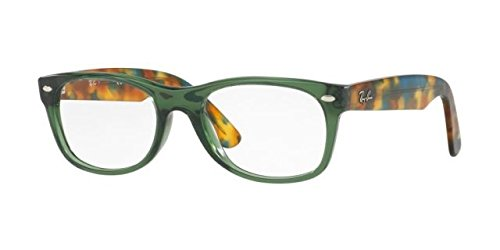 Ray-Ban RX5184 New Wayfarer Eyeglasses Opal Green 50mm