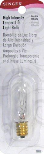 SINGER 15-watt Disentangled High Intensityer Life Light Bulb, 120-volt