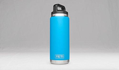 YETI Rambler 26oz vacuum Insulated Stainless metallic product utilizing cover Tahoe Blue DuraCoat Glassware Drinkware