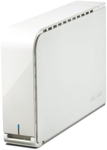 BUFFALO USB3.0用 外付けHDD 2TB ホワイト HD-LB2.0TU3-WHD