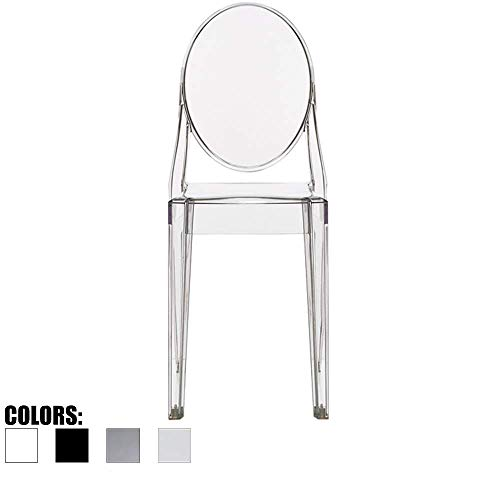 Knoll Barcelona Stool - 2xhome g. Victoria (Clear) Dining Chair