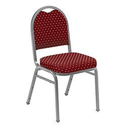 ded Stack Chair w Pattern - Set of 2 ()