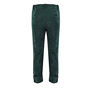 AiYannis6. Women¡¯s Casual Long Pant Roll Up Jeans with Pocket Corduroy Pants Overalls Trousers High Waist Ankle Length Pants